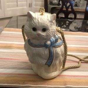 Timmy Woods collectible cat purse